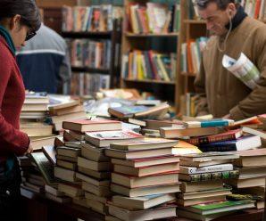 Böcker på second hand